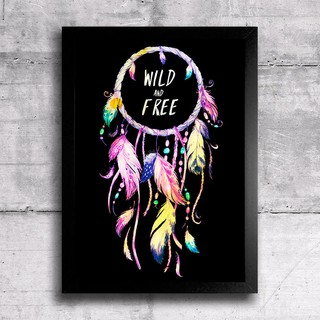 Poster Wild and Free na internet