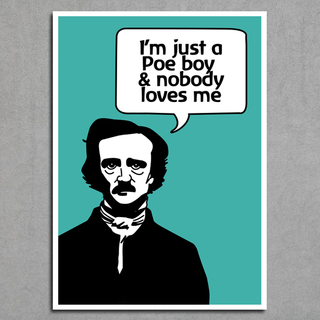 Imagem do Poster Queen / Edgar Allan Poe