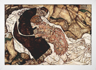Egon Schiele - Death and the Maiden - comprar online
