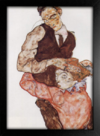Egon Schiele - Lovers - Self Portrait With Wally - loja online