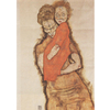 Egon Schiele - Mother and Child na internet