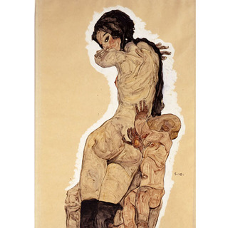 Egon Schiele - Mother and Child II na internet