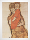 Egon Schiele - Mother and Child - loja online