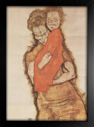 Egon Schiele - Mother and Child - comprar online