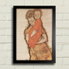 Egon Schiele - Mother and Child