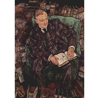 Imagem do Egon Schiele - Portrait of Dr. Hugo Koller
