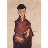 Egon Schiele - Portrait of Herbert Rainer na internet