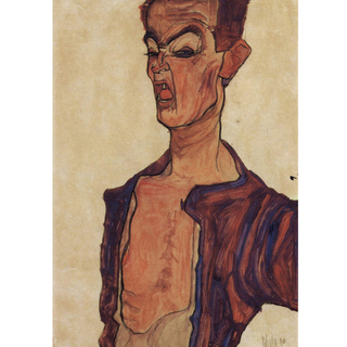 Egon Schiele - Self-Portrait V na internet
