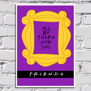 Poster Friends - I'll be there for you na internet