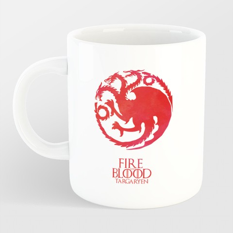 Caneca Game of Thrones - Fire and Blood na internet