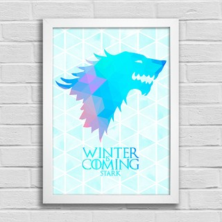 Poster Game of Thrones - Winter is Coming - Stark na internet
