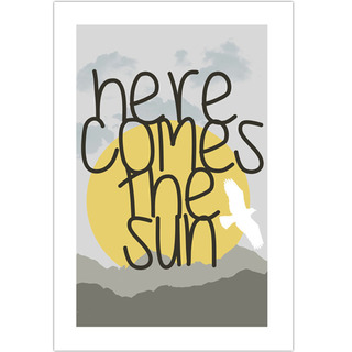 Poster Beatles Here Comes The Sun - loja online