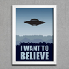 Poster Arquivo-X I Want To Believe