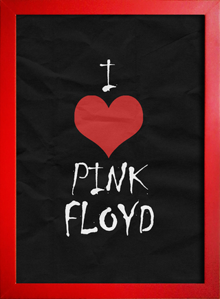 Poster I Love Pink Floyd - loja online