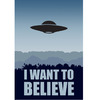 Poster Arquivo-X - I Want To Believe na internet