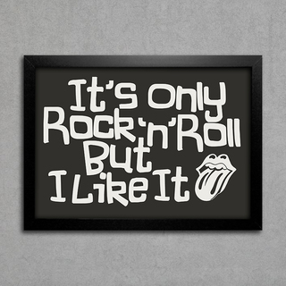 Poster Rolling Stones - It's Only Rock 'n' Roll But I Like It na internet