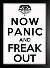 Imagem do Poster keep Calm - Now Panic And Freak Out
