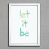 Poster Beatles Let It Be - comprar online