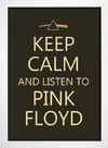 Poster Keep Calm and Listen to Pink Floyd - comprar online
