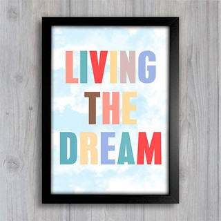Poster Living The Dream - comprar online
