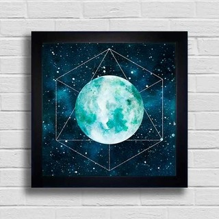 Quadro Geometric Moon na internet