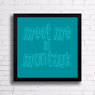 Quadro Meet Me In Montauk