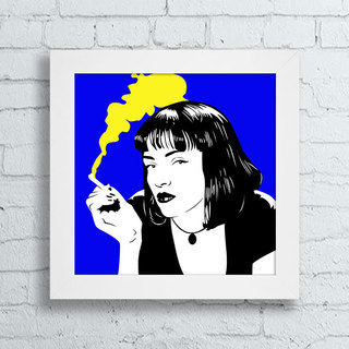Quadro Mia Wallace - Pulp Fiction II - comprar online