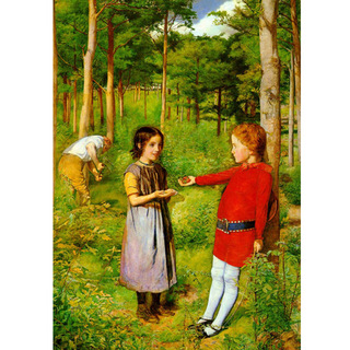 Millais - Hunters Daughter