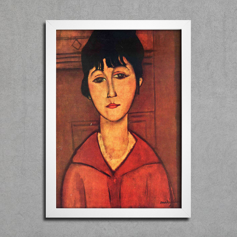 Modigliani - Head of Young Girl