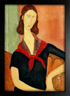 Imagem do Modigliani - Jeanne Hebuterne With a Scarf