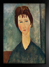 Imagem do Modigliani - La Fanciulla Bruna