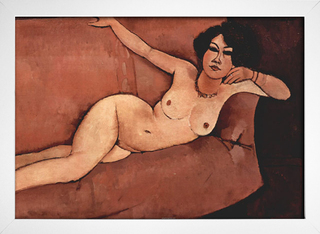 Modigliani - Nude on Sofa - loja online