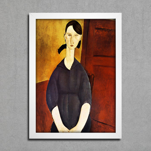 Modigliani - Portrait of Paulette Jourdain