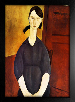 Imagem do Modigliani - Portrait of Paulette Jourdain