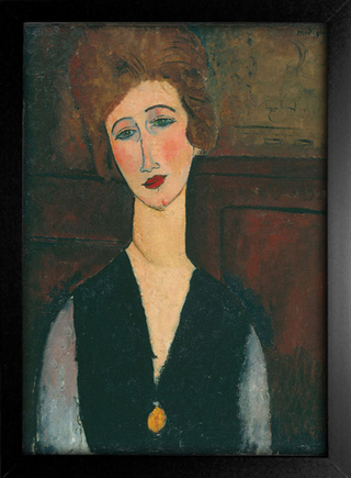 Imagem do Modigliani - Portrait of a Woman