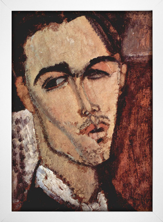 Modigliani - Portrait of Celso Lagar - loja online