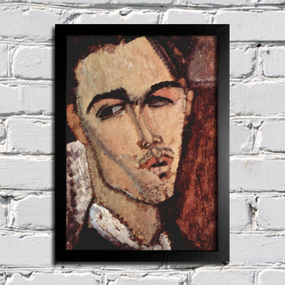 Modigliani - Portrait of Celso Lagar - comprar online