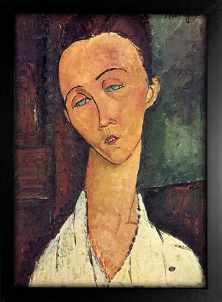 Imagem do Modigliani - Portrait of Lunia Czechowska