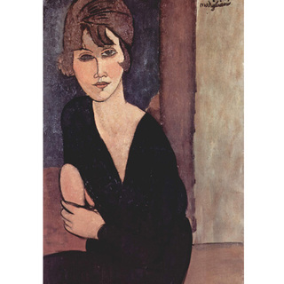 Modigliani - Portrait of Madame Reynouard