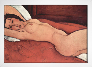 Imagem do Modigliani - Reclining Nude With Folded Arms Behind Her Head