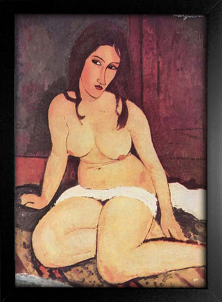 Imagem do Modigliani - Seated Nude