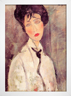 Modigliani - Woman With a Black Tie - Encadreé Posters