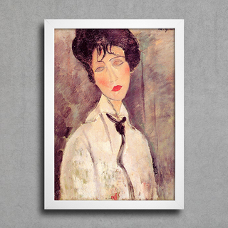Modigliani - Woman With a Black Tie - comprar online