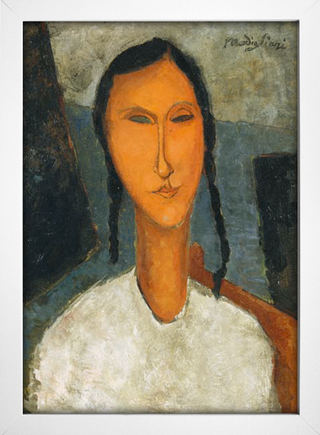Modigliani - Young Girl With Braids - loja online