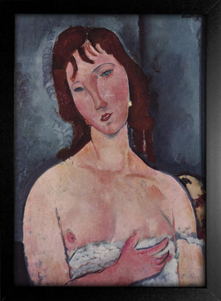 Imagem do Modigliani - Young Woman