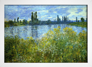 Monet - Banks of the Seine Vetheuil - loja online