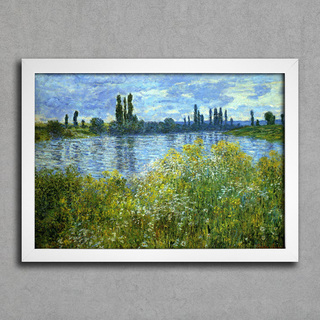 Monet - Banks of the Seine Vetheuil