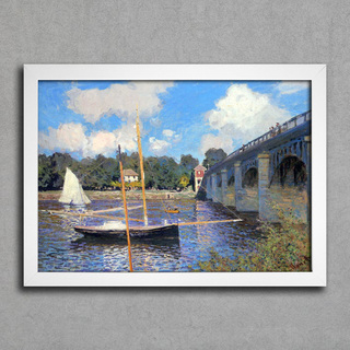 Monet - Bridge at Argenteuil