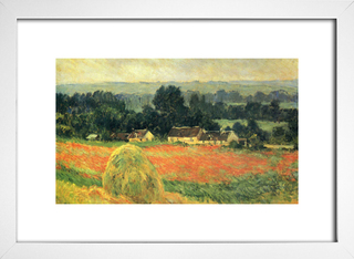 Quadro Monet - Haystack At Giverny  - loja online