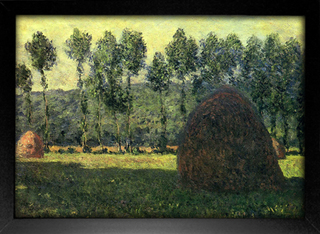 Imagem do Monet - Haystacks